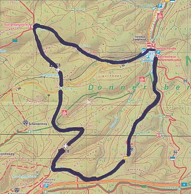 Wanderung Stumpfwald